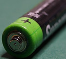 photo of AA Battery for smoke alarm