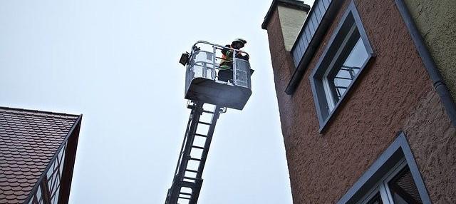 image of fire escape ladder